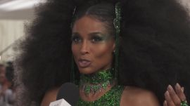 Ciara on Her Diana Ross-Inspired Met Gala Look