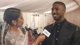Michael B. Jordan on Running Rampant Inside the Met Gala