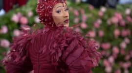 "Watch Cardi B Get Dressed for the Met With ""Half a Million Dollars Worth of Nipples"""