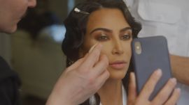 See Kim Kardashian West Get Fitted for Her Waist-Snatching Met Gala Look