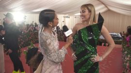 Miley Cyrus on Taking Liam Hemsworth to His First Met Gala