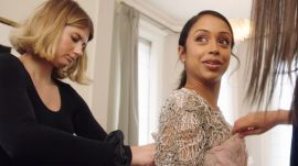 Watch Liza Koshy Pick Her Balmain Couture Dress—And a 28-Inch Ponytail!—for the Met Gala