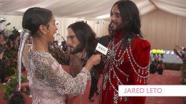 Jared Leto's Two-Headed Met Gala Look