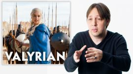 Game of Thrones Language Creator Reviews People Speaking Valyrian and Dothraki