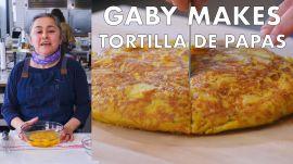 Gaby Makes Tortilla de Papas