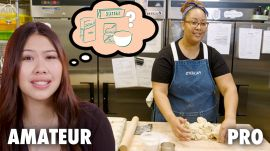 Amateur Guesses What it Takes to Be a Pastry Chef | Dream Job vs Real Job