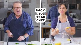 Eric Stonestreet Tries to Keep Up With a Professional Chef