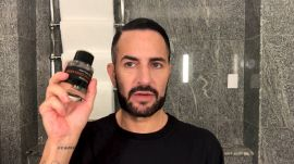 Marc Jacobs Does His Busy Day Beauty Routine—Complete with a Fierce Red Lip