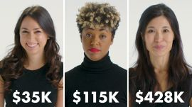 Women with Different Salaries On How Much They've Spent on Furniture