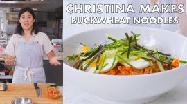 Christina Makes Buckwheat Noodles