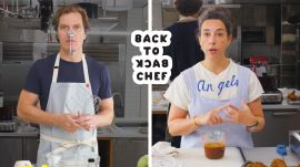 Michael Shannon Tries to Keep Up With a Professional Chef
