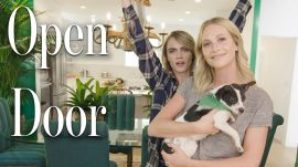 Inside Cara and Poppy Delevingne's Jungle-Themed Home
