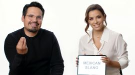 Eva Longoria and Michael Peña Teach You Mexican Slang