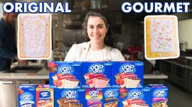Pastry Chef Attempts to Make Gourmet Pop-Tarts