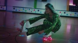 Watch Models Skate Around a Glitzy Roller Rink In Sequins with Saks Fifth Avenue