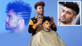 Zayn Malik's High Fade Haircut Recreated by a Master Barber