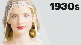 100 Years of Bridal Makeup