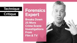 Forensics Expert Examines 25 More Crime Scene Investigations From Film & TV