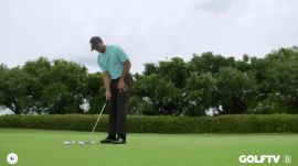 Tiger Woods' Two Tee Putting Drill