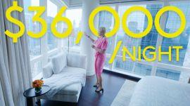 Inside a $36K a Night NYC Hotel Room