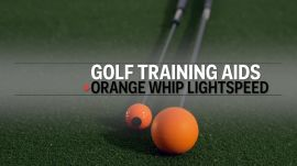How the Orange Whip Training Aid Increases Your Swing Speed