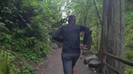 A Run in the Woods with Gregory Gourdet