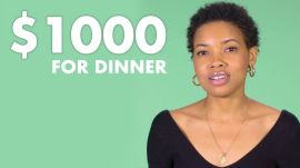 Women  of Different Salaries on the Most They Would Spend on Dinner