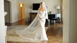 Inside Hailey Bieber's Final Wedding Dress Fitting