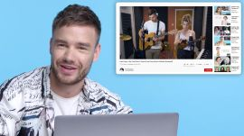 Liam Payne Watches Fan Covers on YouTube