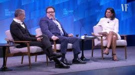 "Bob Iger and Jon Favreau Talk ""The Mandalorian,"" Disney+, and George Lucas"