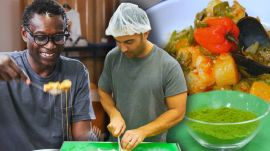 Andy Learns How to Cook Senegalese Food