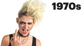 100 Years of Goth, Punk and Vamp Beauty