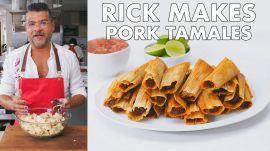 Rick Makes Pork Tamales