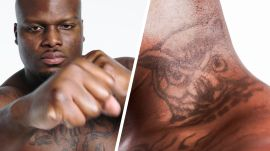 UFC Fighter Derrick Lewis Breaks Down His Tattoos