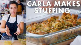 Carla Makes Thanksgiving Stuffing