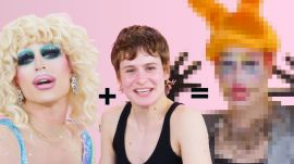 Christine and The Queens Gets a Drag Makeover from Milk