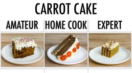 4 Levels of Carrot Cake: Amateur to Food Scientist