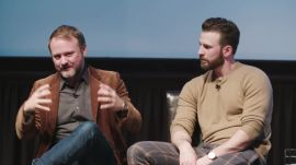 Chris Evans & Director Rian Johnson Talk About 'Knives Out' at WIRED25