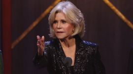 Jane Fonda Accepts Award on Greta Thunberg's Behalf