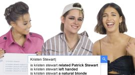 Kristen Stewart, Naomi Scott, and Ella Balinska Answer the Web's Most Searched Questions