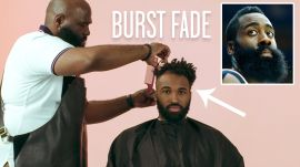 James Harden's Burst Fade Haircut Recreated by a Master Barber