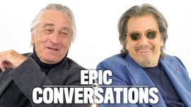Robert De Niro and Al Pacino Have an Epic Conversation