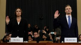 Highlights from Fiona Hill and David Holmes's Impeachment-Hearing Testimonies