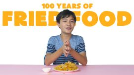 Kids Try 100 Years Of Fried Food