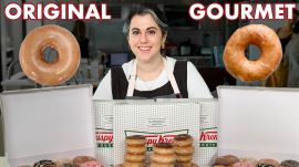 Pastry Chef Attempts to Make Gourmet Krispy Kreme Doughnuts