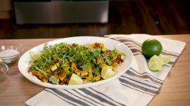 Winter Squash Salad with Seedy Dressing