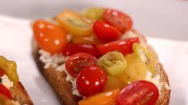 Marinated Feta & Tomato Toast