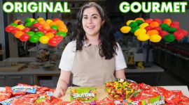 Pastry Chef Attempts To Make Gourmet Skittles