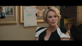 """Bombshell"" Clip: Charlize Theron, as Megyn Kelly, Calls Bullshit on Fox News"