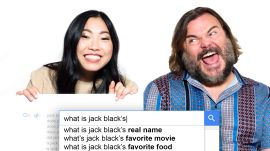 Jack Black & Awkwafina Answer the Web's Most Searched Questions